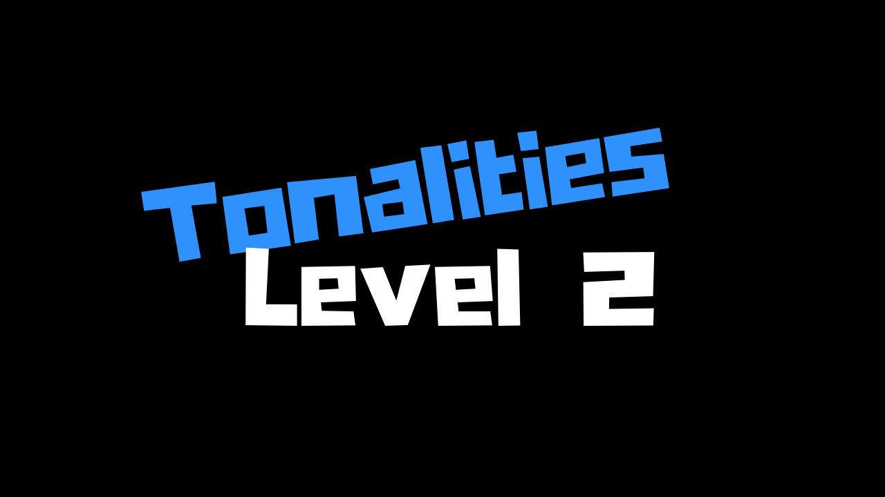 Rcfneunttexhhb6lovf3 bootcamp tonalities level 2