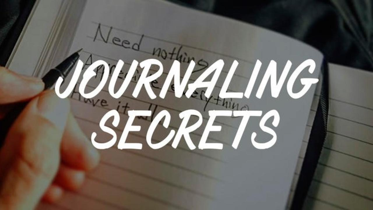 Bxzntmpsziqjprupapqz journaling secrets