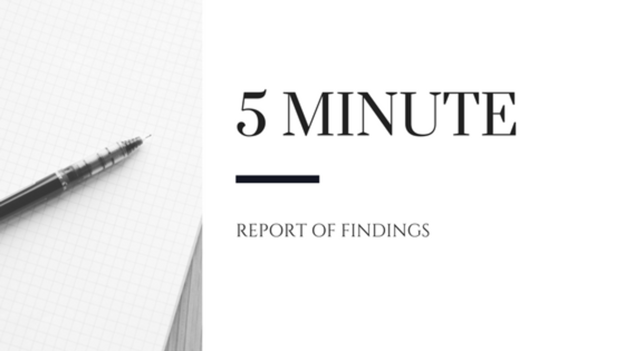 Ebvdcbkmrpedgevz1aww report of findings