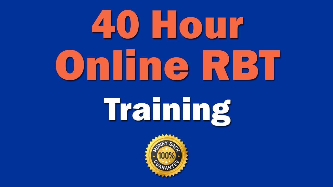 Online registered behavior technician rbt training 1betcityfo Images