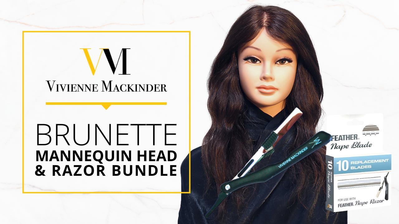 Fdbdvxfdqikxkfl3xmzq vm brunette mannequin head razor bundle
