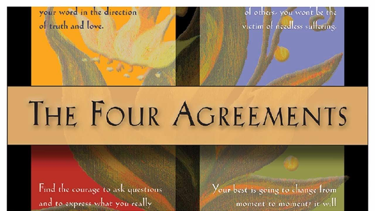 1afkwfznr9af3jxomhuwfour as poster cropped 1280x721g the four agreements poster size 85 x 11 or 18 x 24 platinumwayz