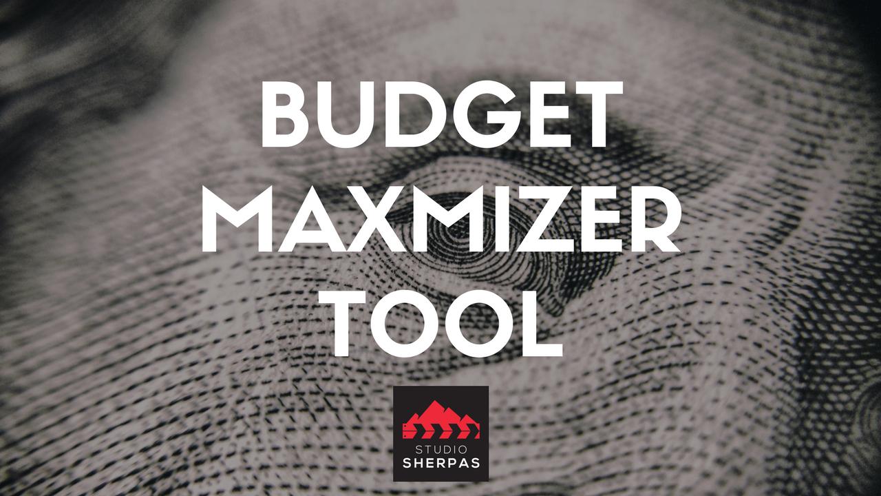 Imob0zcvsxsyphoyvqtu budget maximizer tool
