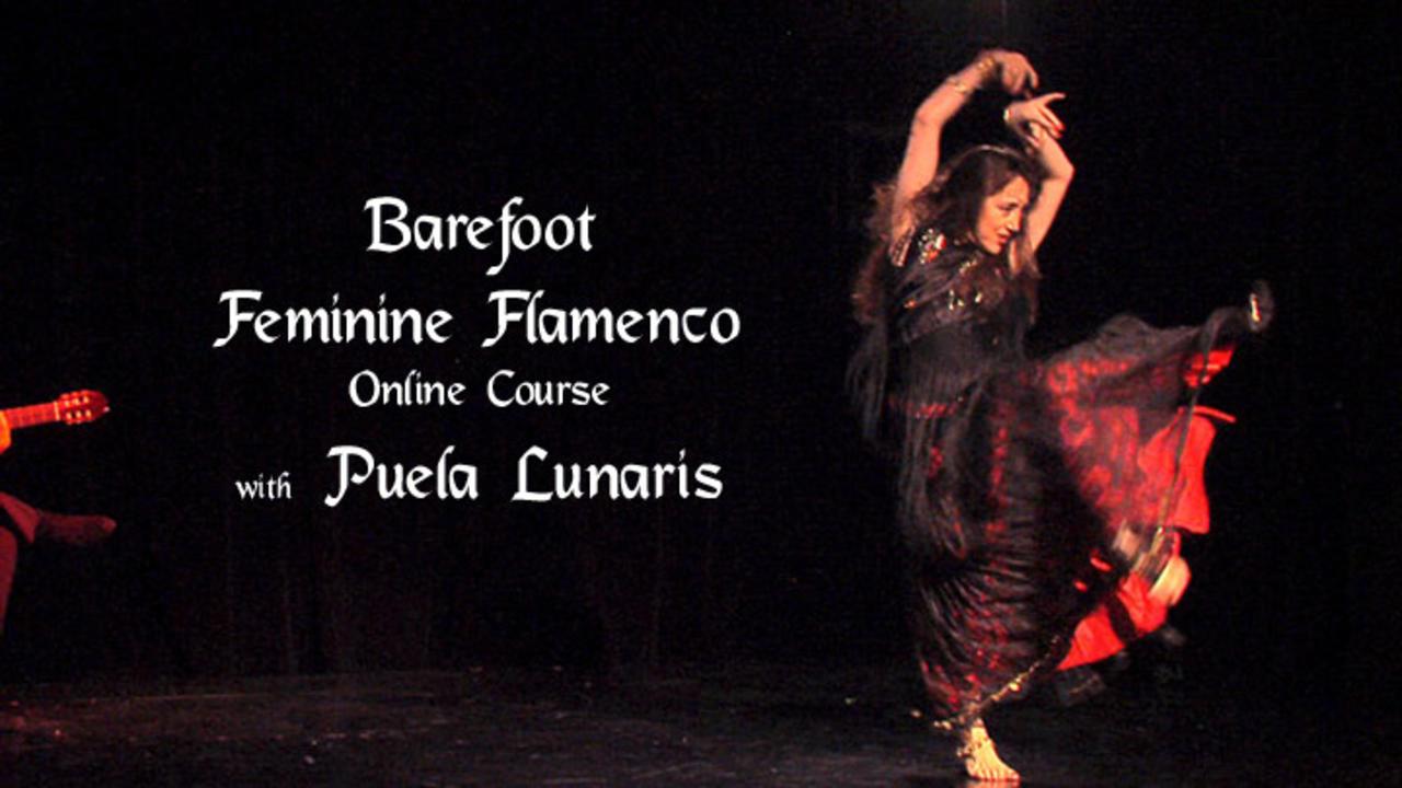 Barefoot Feminine Flamenco (Technique & Choreography)