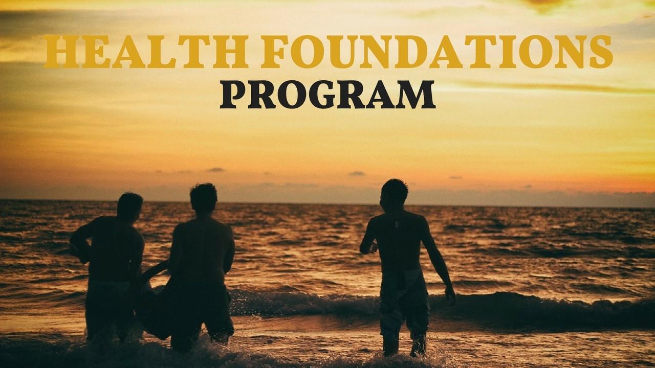 T9nz3vetsmsku8rdz1po health foundations program