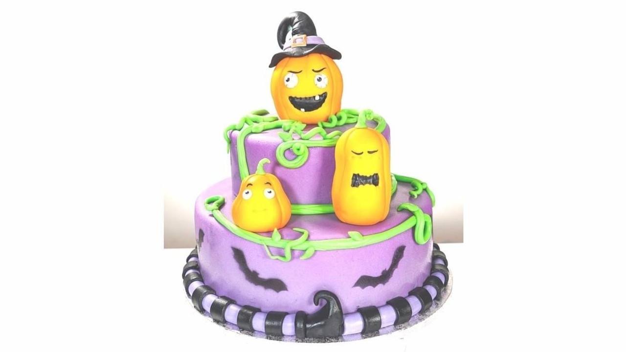 Glkj4sastnsqjcbysqtg halloween pumpkin cake