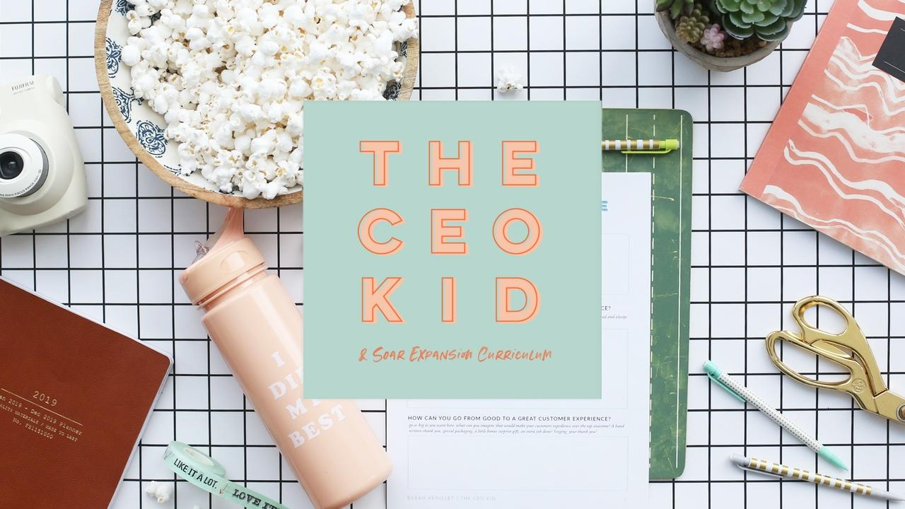 5k1mqkcseytpyeuyavnw 1. the ceo kid soar title card