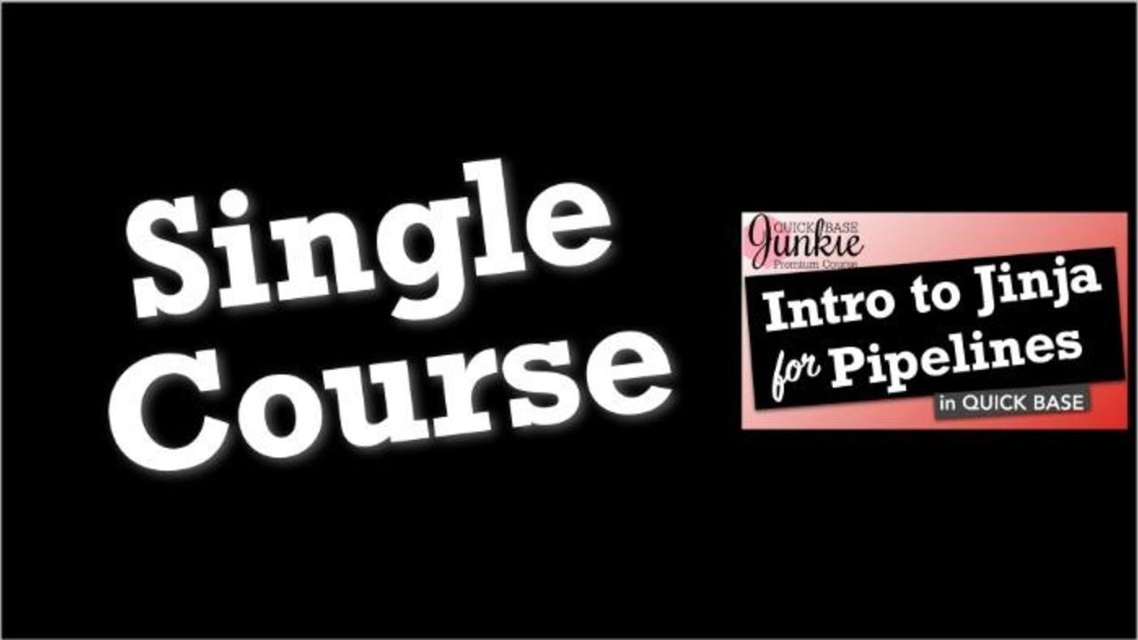 X9gveqpzrlkqenlnzu8o single quick base junkie intro to jinja for pipelines