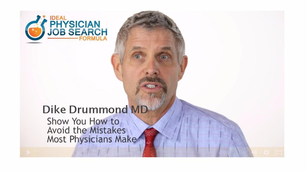 ideal physician job search formula