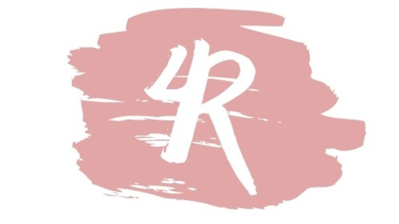 Xglxbpytyciuiyon3edd white with aqua brush stroke personal logo 1