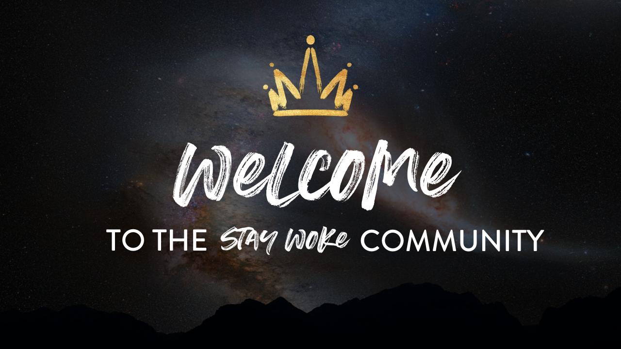 Yaplgeoxtcogutye0vob to the stay woke community