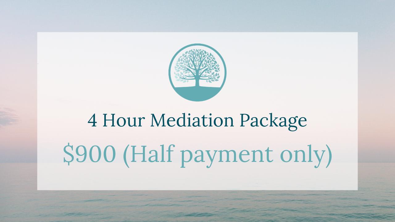 M898tslurawuv0l16bks 4 hour   half mediation package