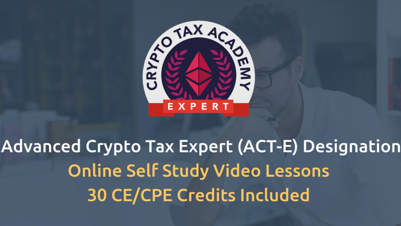 Hmdphsz0toat0nog77ad advanced crypto tax expert act e designation 2