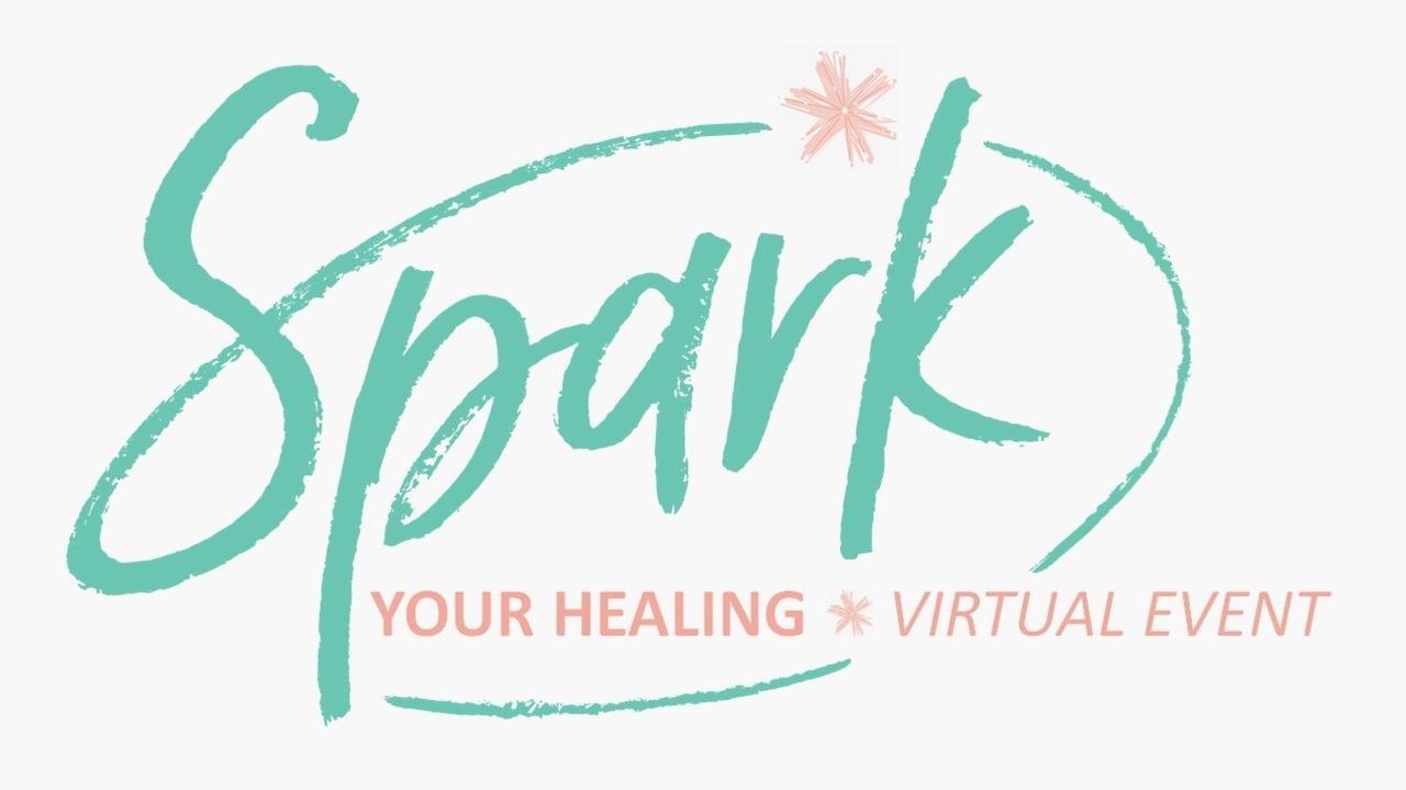 Srqjzaqqrqpvpbxnuvid spark your healing logo