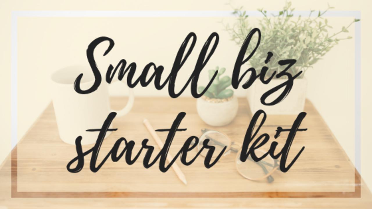 Ugttl2bzqsxxyq5lqv0c small biz starter kit