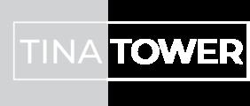 Seftckagtlswkwyazkud tina tower logo white
