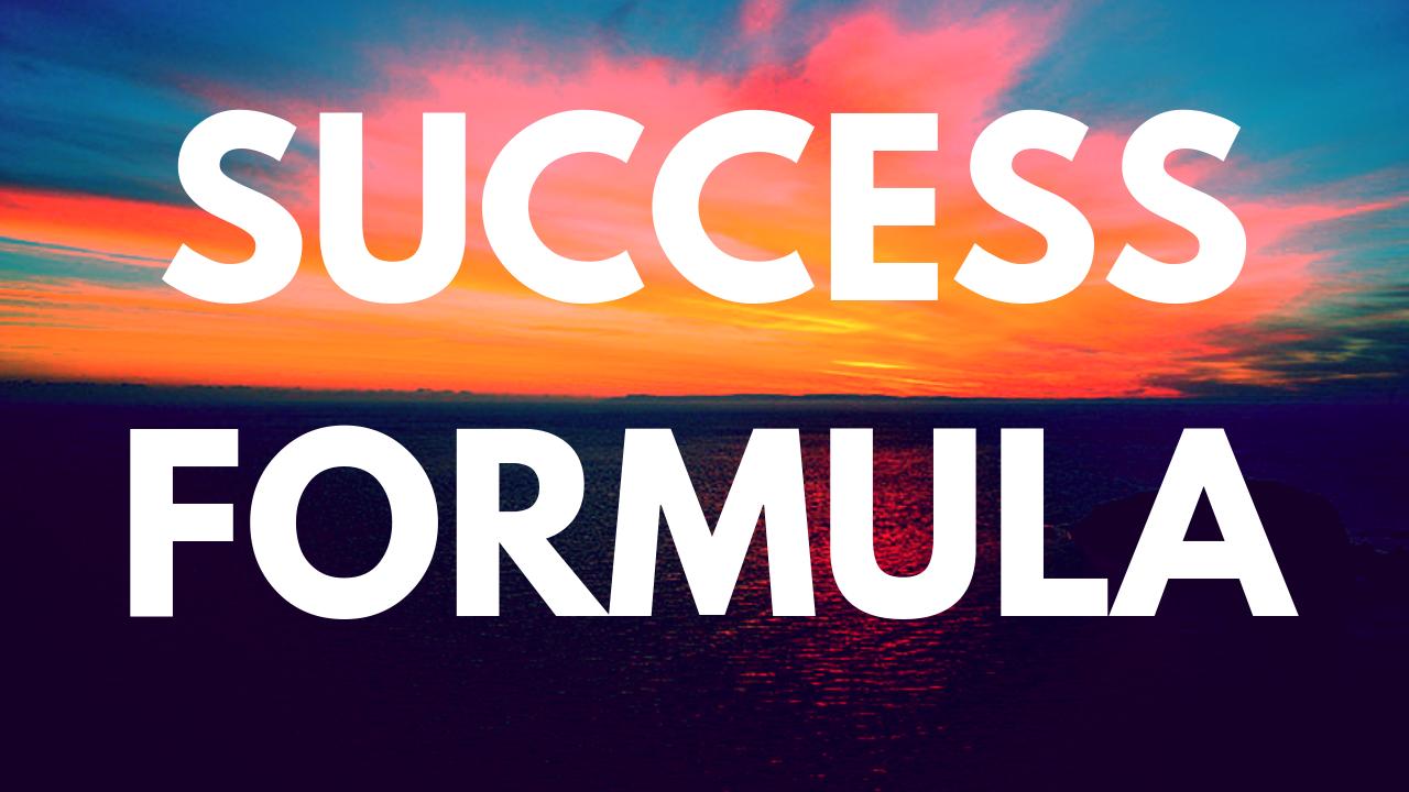 Vuitcnwktfimxuiknvjn success formula