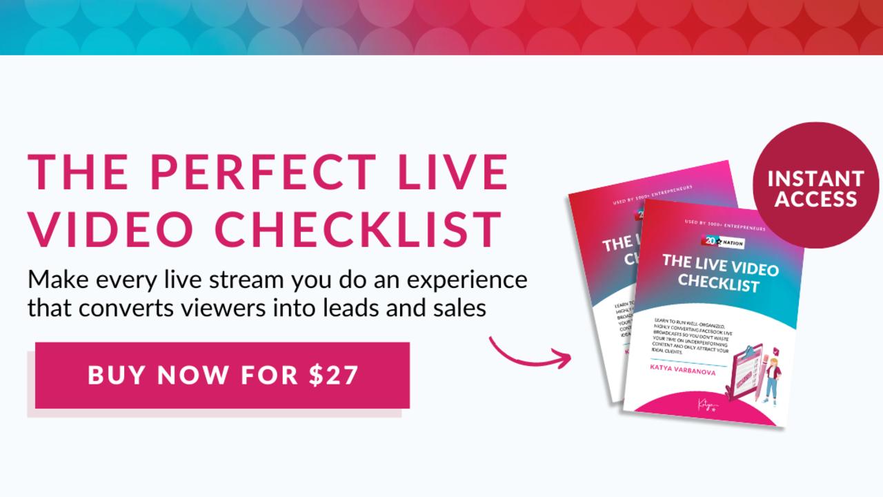 Kljwxn60qk2olah6havw live video checklist product imag
