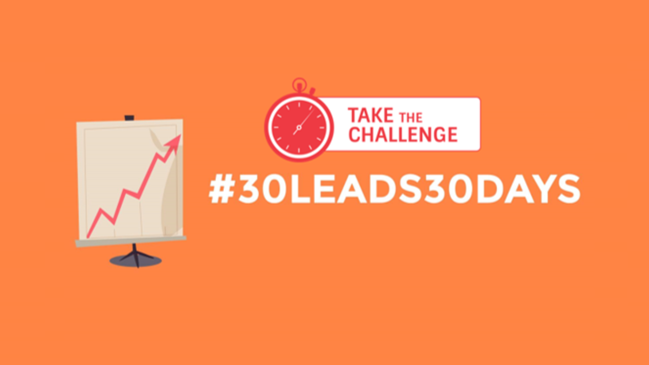 X1aowdaxsucbaavh951g 30 leads in 30 days take the challange
