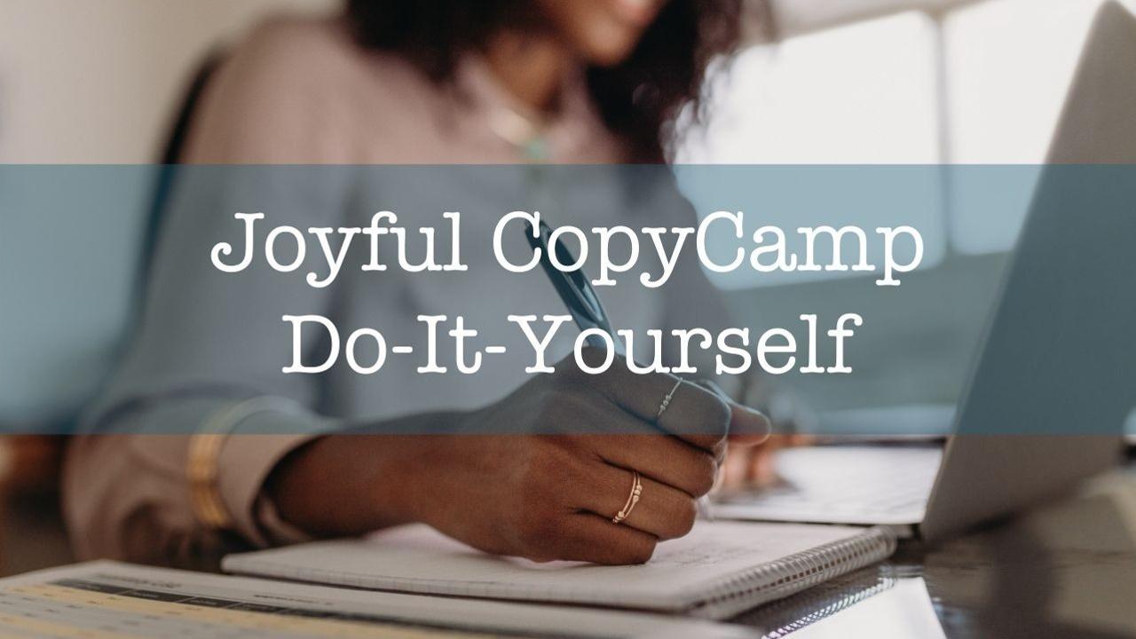Lumvznebqluvmdytxldn joyful copycamp 2021 diy