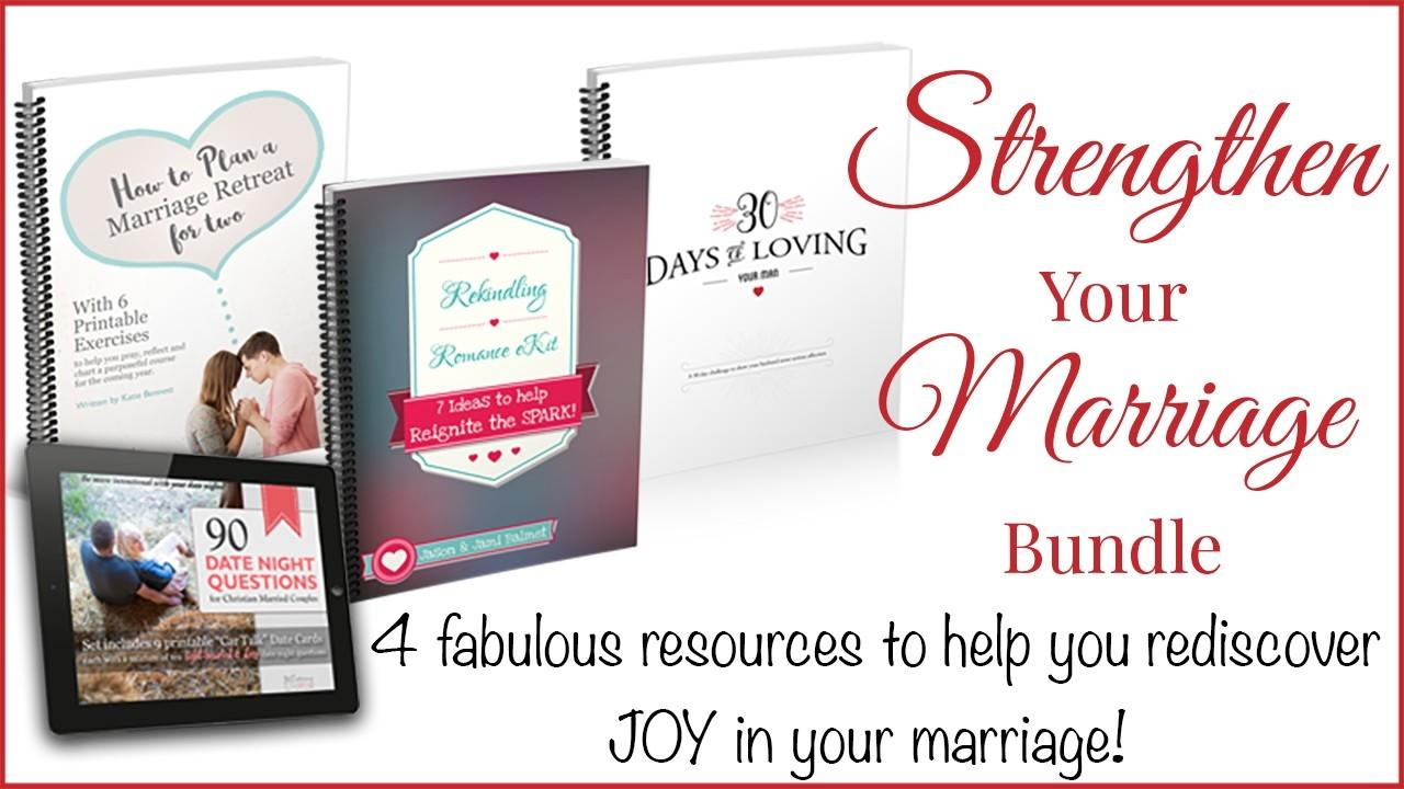 Marriage strengthening exercises