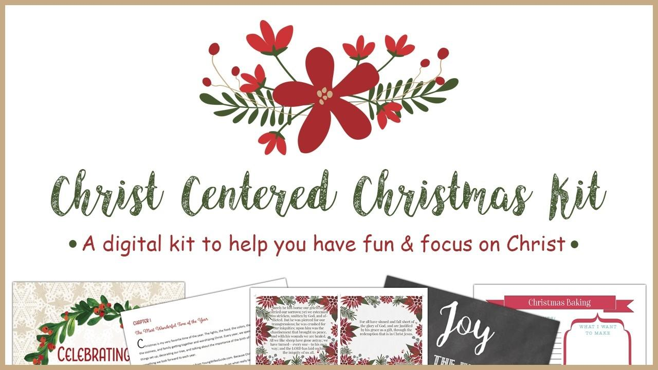 Christ Centered Christmas Kit