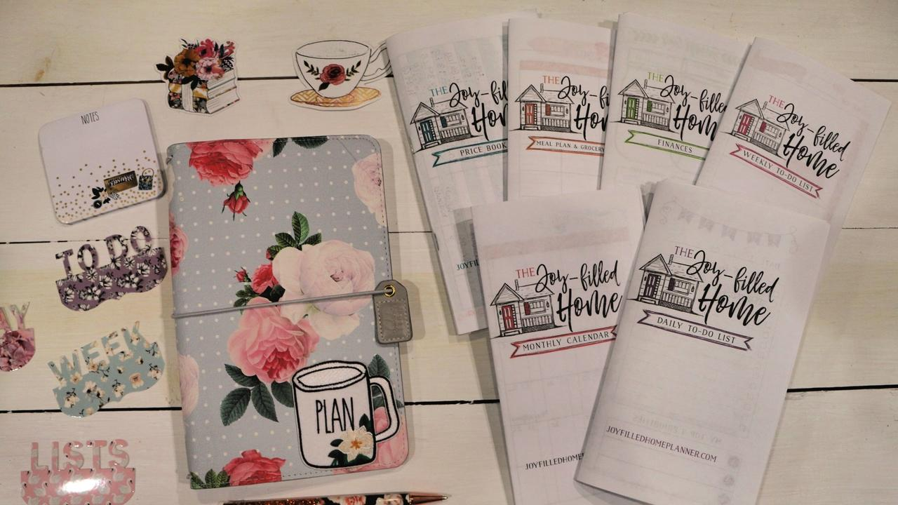 The Joy-Filled Home Planning System on planner sheets, planner backgrounds, planner art, planner ideas, planner brands, planner love, planner templates, planner fun, planner paper, planner stamps, planner icons, planner quotes,