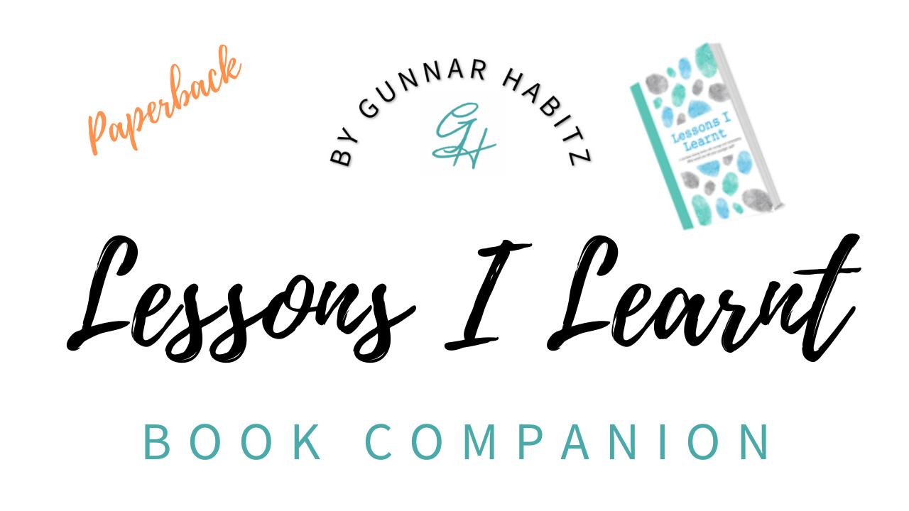 Ta52lcnra6z6jsxqmmua lessons i learnt   paperback   logo