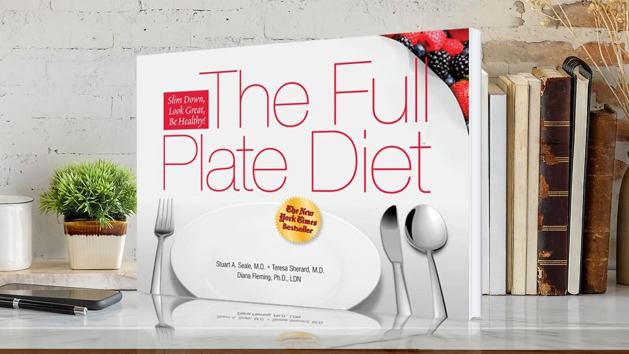 Mslpkjdreiifjq0eyrki full plate diet book on a shelf