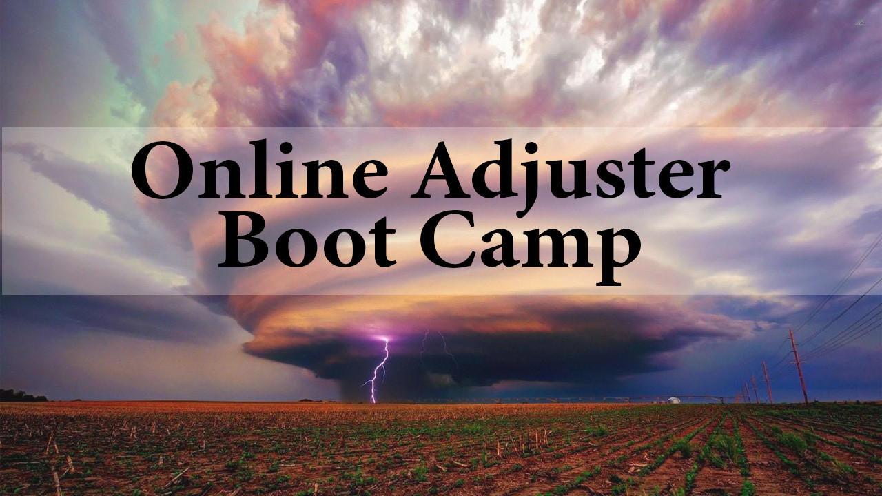 Online Adjuster Boot Camp