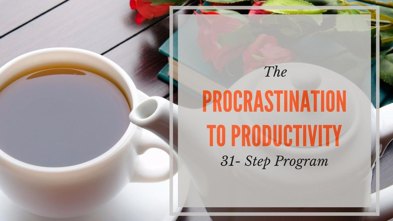 Lsyt4amst3crfdccywcg procrastinationto productivity product photo