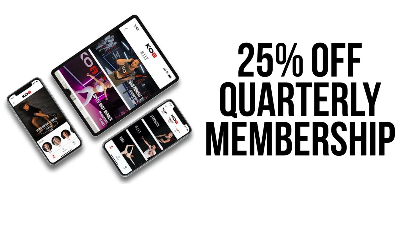 Gspkokiotxelniq7acqp 25 off quarterly membership