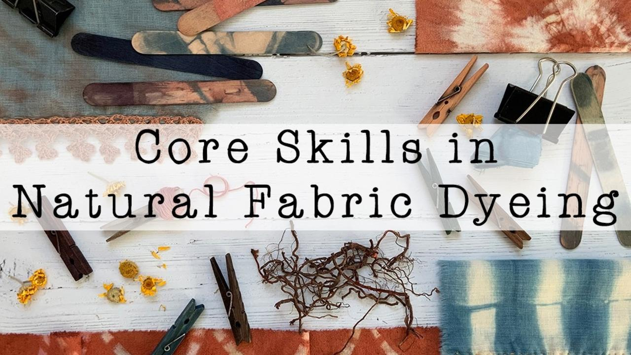 Wphvqr8rsrgja0ugqy6t core skills in natural fabric dyeing cart image