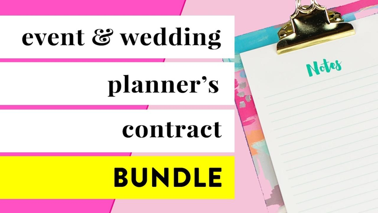 Xnqm74eftyktm0gto0kn bundle event wedding planning contract template