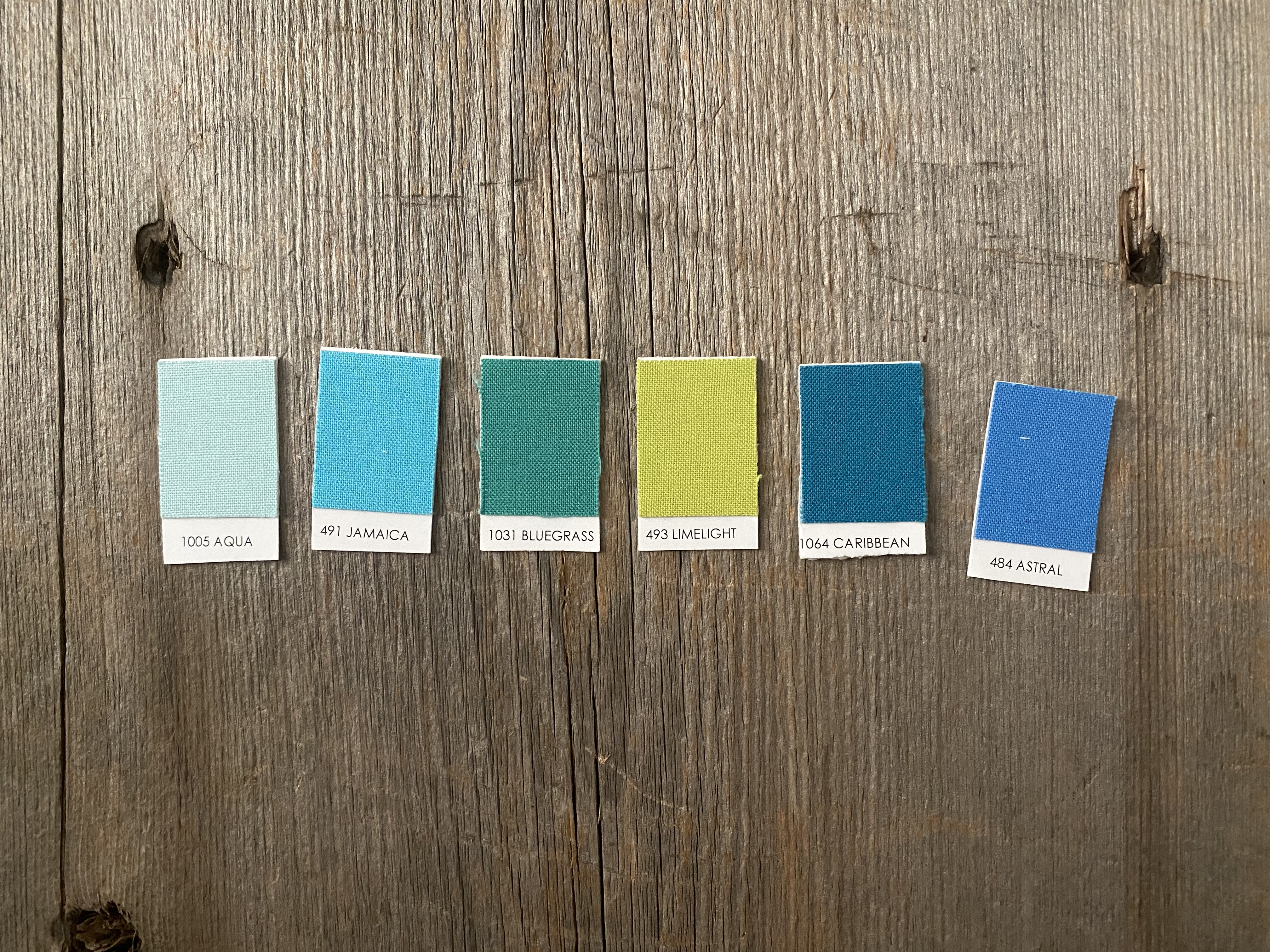 Kona Color Chips for Wildflower