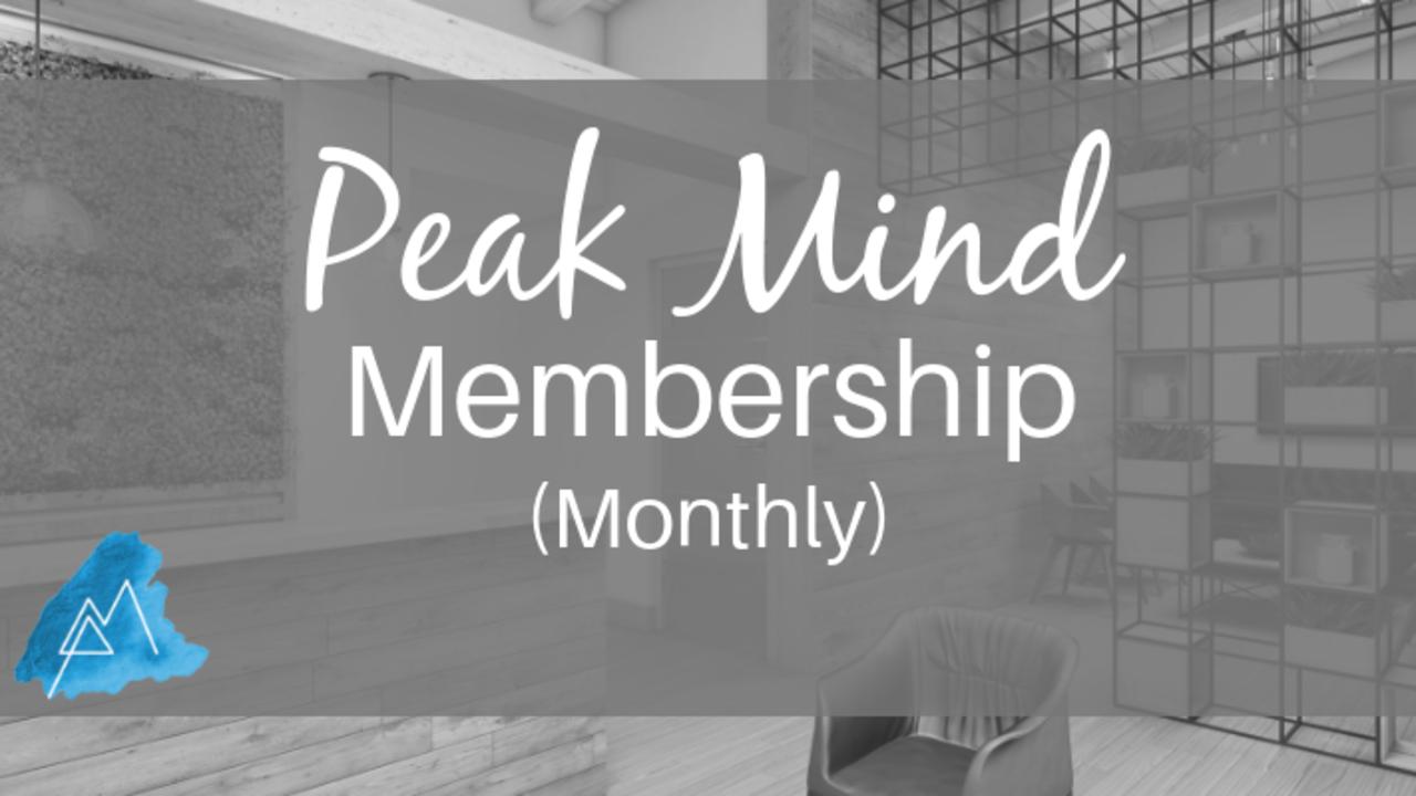 A9ng7mvvt2gdr88uxfax peak mind memberhip monthly