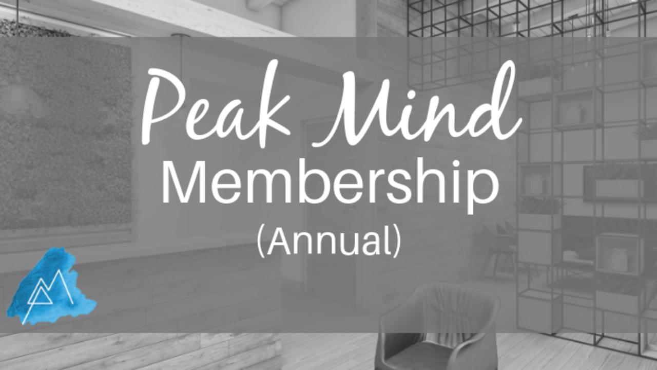 Phjkqmrjsshqyr10sww2 peak mind membership annual