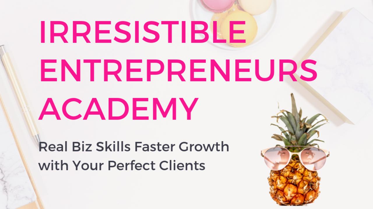 Qmulfztttpknpv6etogg irresistible entrepreneurs academy product image 1