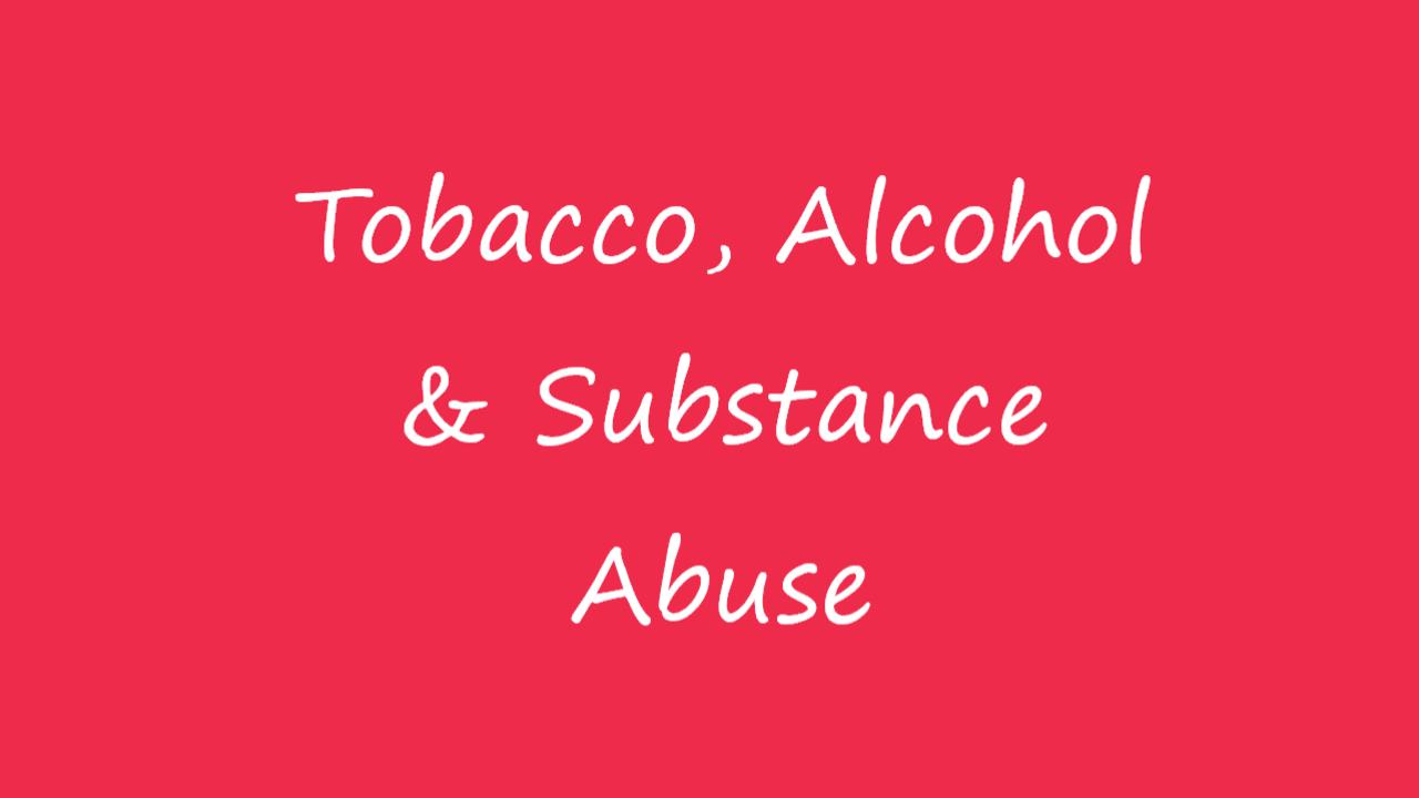 Ojnvfnsq9qlyr00zaehh tobacco alcohol substance abuse