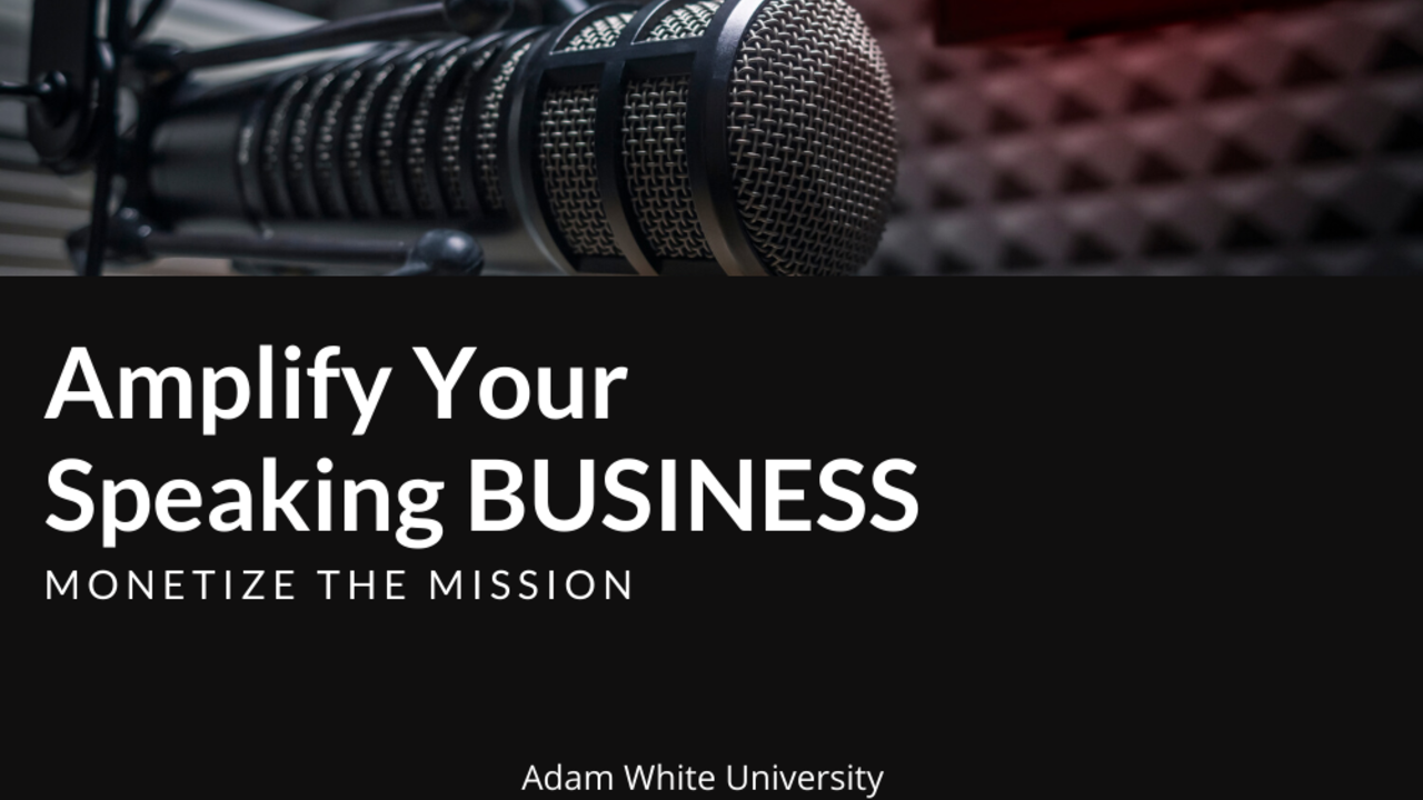 Uajkn3jut8qep4wrtnn0 amplify your speaking business