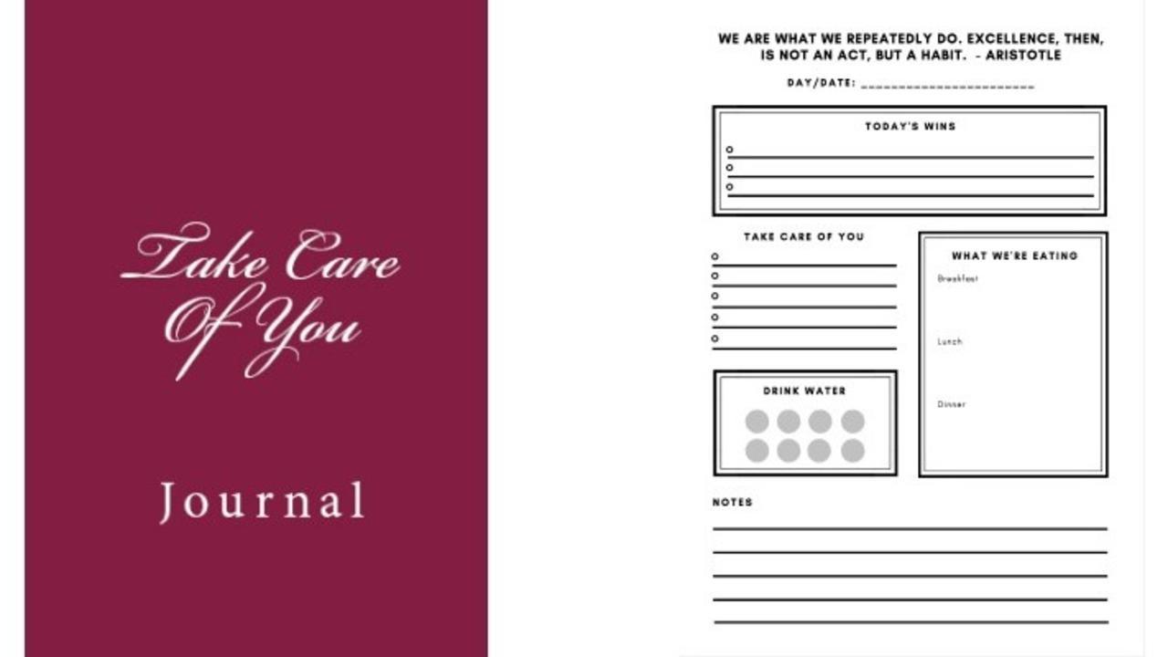 Jcjbcormt36jgw81sdsk take care of you journal
