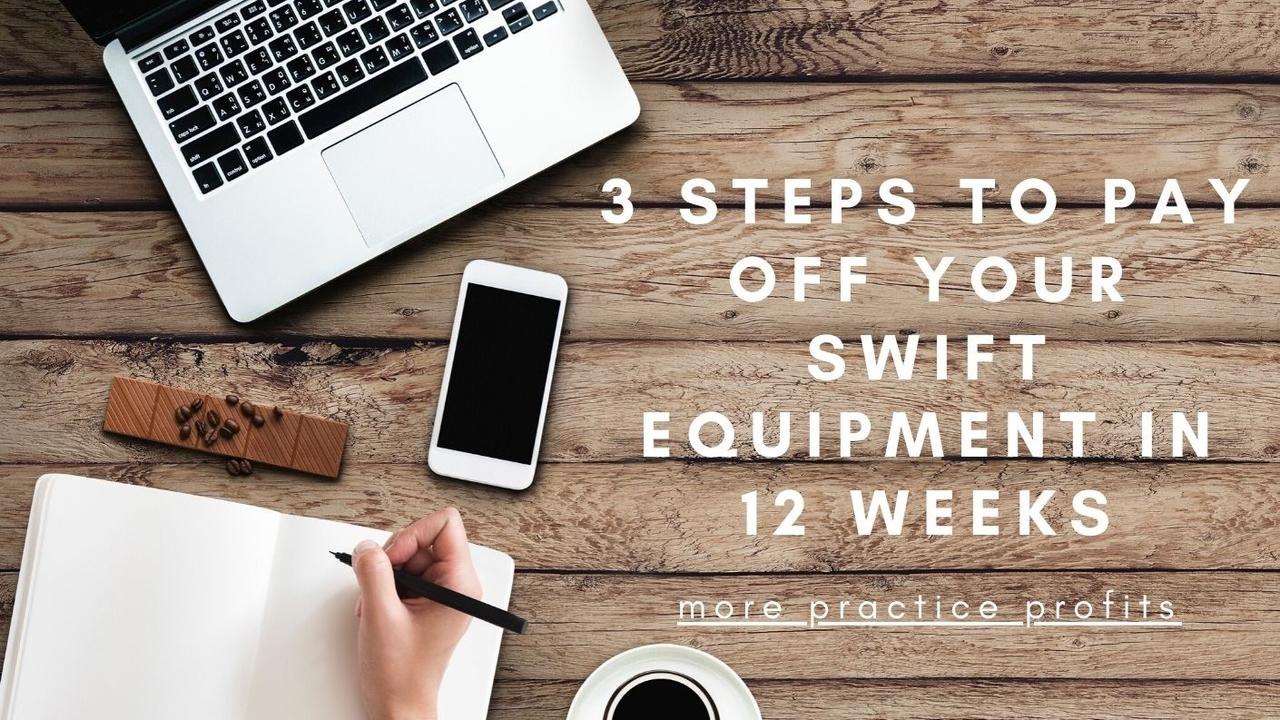 Qi4ixvhdqocj2wcakmav 3 steps to pay off your swift equipment in 12 weeks 1