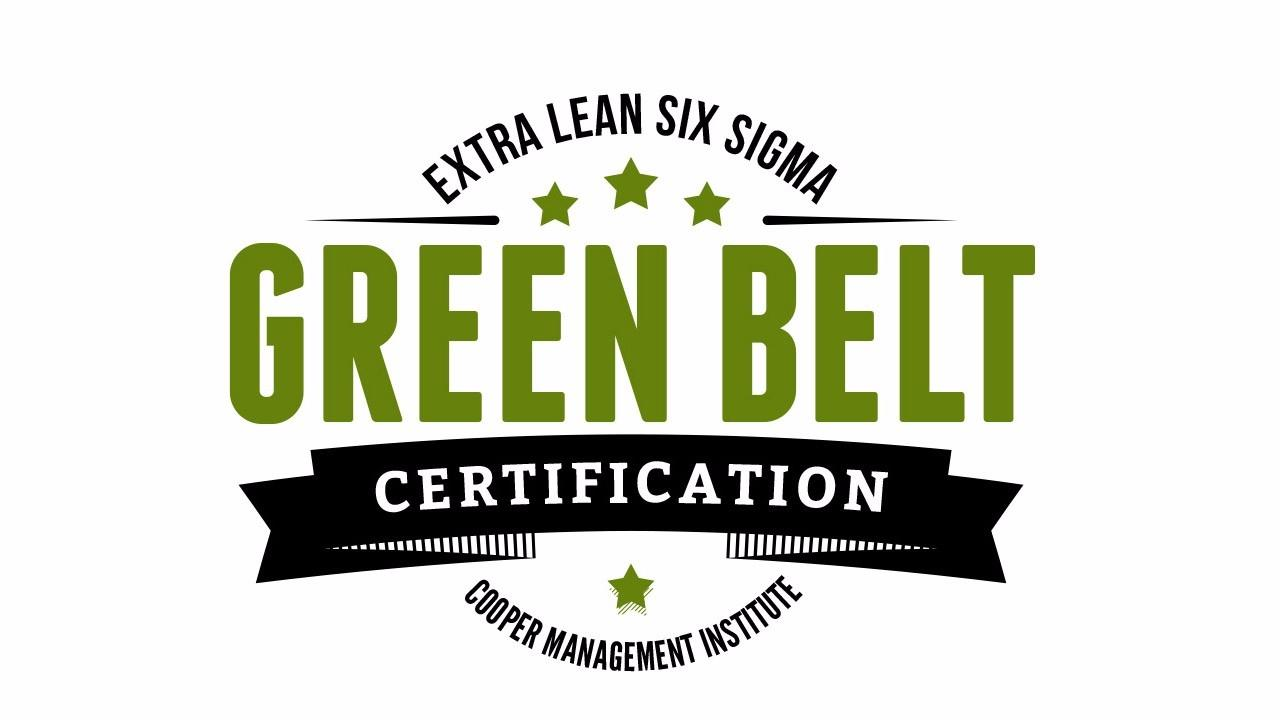 Extra Lean Six Sigma Green Belt Certification