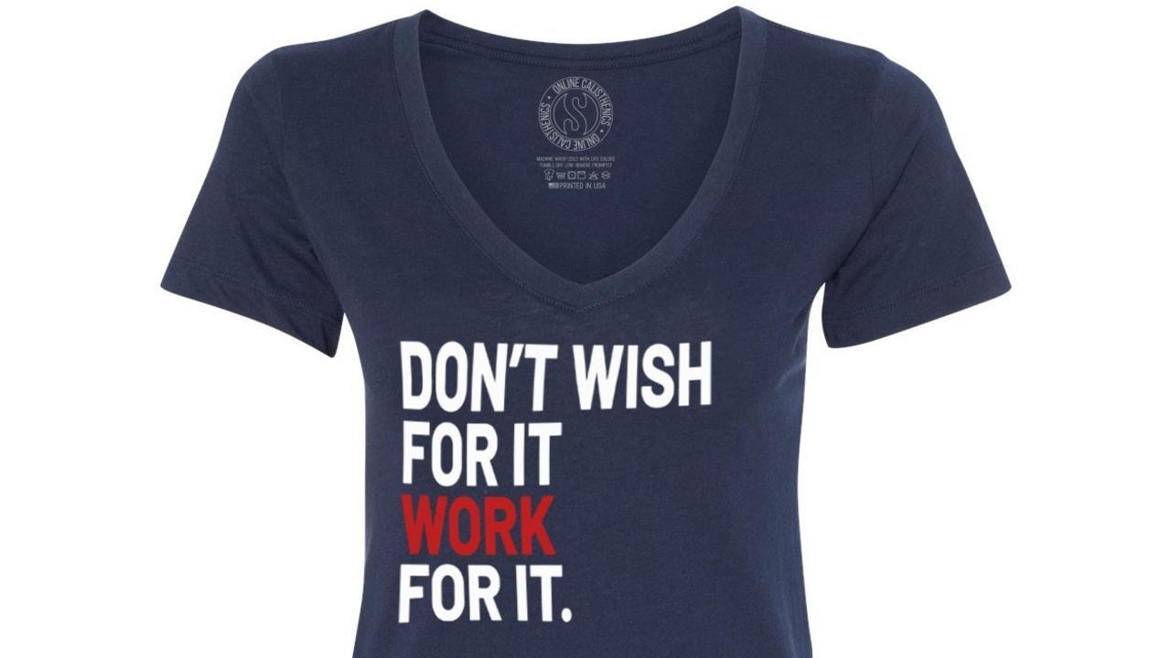 Rl9hzaxyqhq5ldtffbgq onlinecalisthenics t shirt women navy front