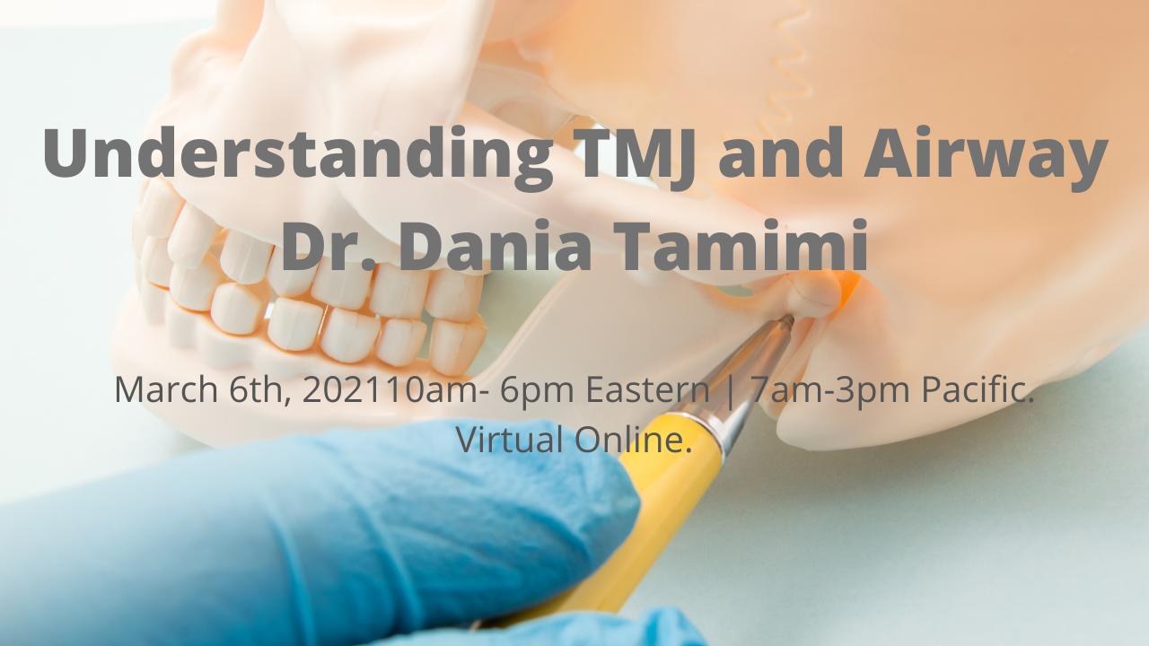 Hsa48gyotgo3bmwn6jaq understanding tmj airway dr. dania tamimi