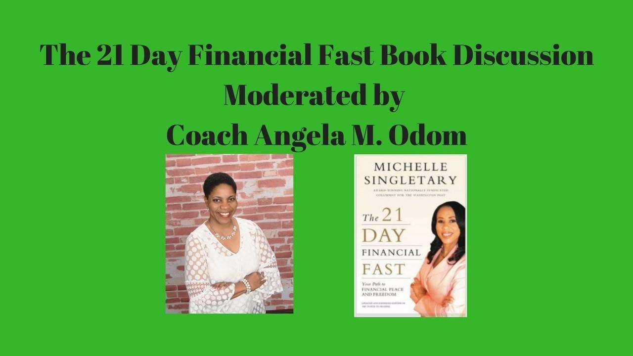 Hdr8t83otbmlkhwtnc2g nk the 21 day financial fast book image