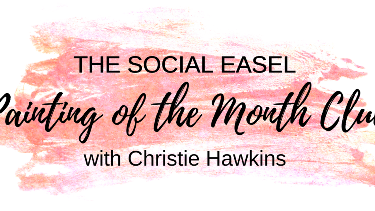 0cmttzyasyswmacrrm1n coral the social easel painting of the month logo
