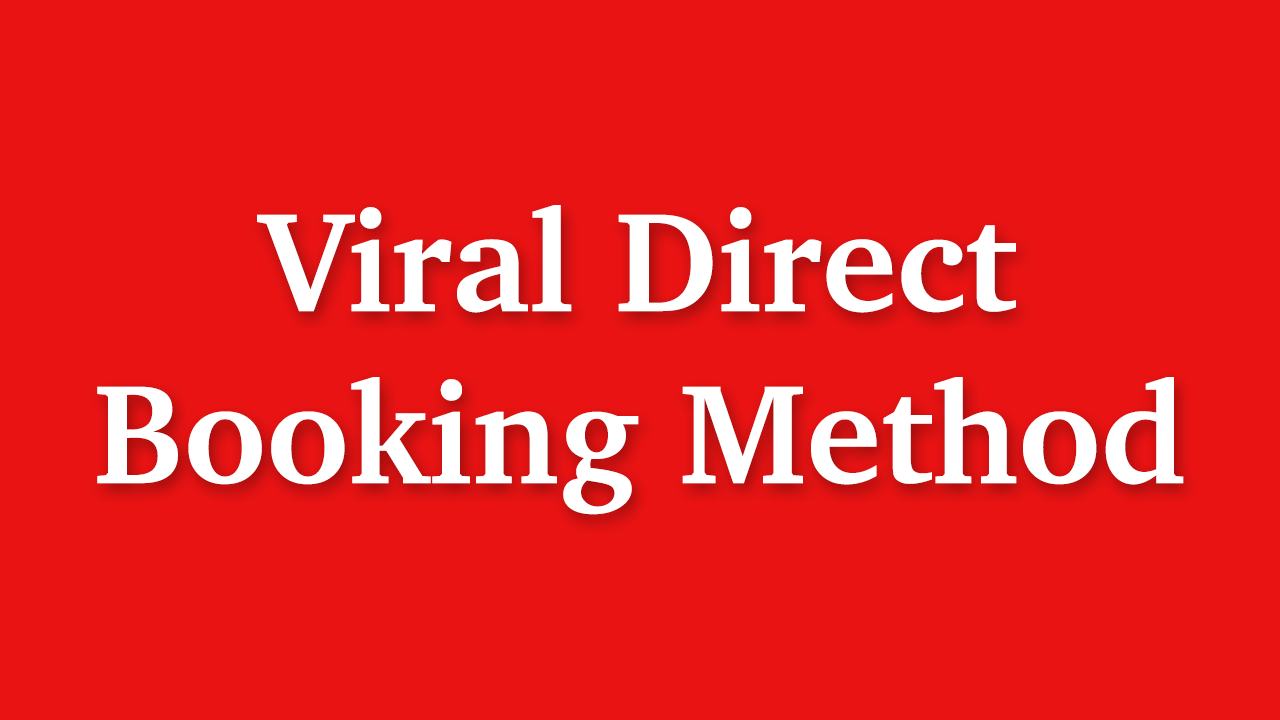 Eudldwn3riepctdmrwiu viral direct booking method