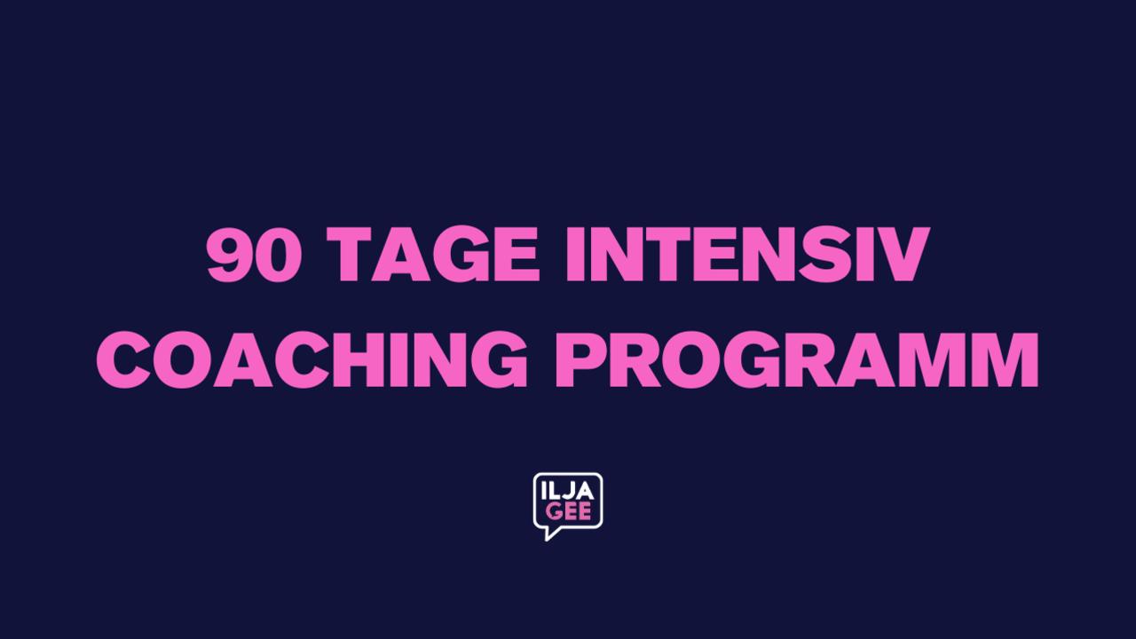 Dfva46xotawmkkn4lewt 90 tage intensiv coaching programm