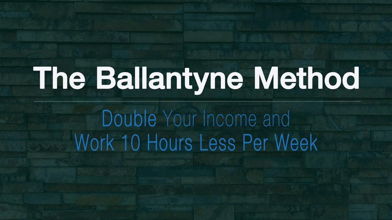 I2xyydztarcnvhpwssmw ballatyne method